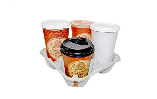 Paper cups and lids for hot drinks