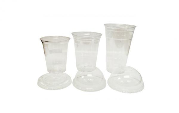 Cups and lids for Pete clear cups